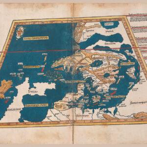 First map of Scandinavia