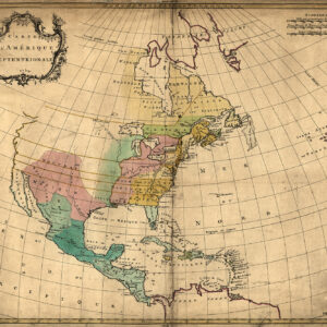 North America 1754