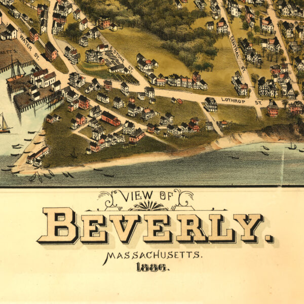 Beverly, Massachusetts, 1886