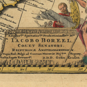 North- and South America 1700s
