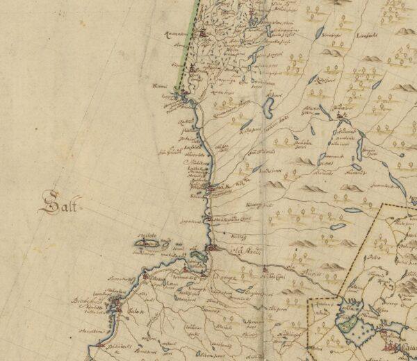 Österbotten late 1600s