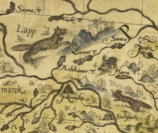 Northern Sweden and Finland 1626